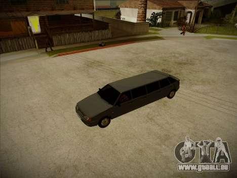 VAZ 2114 Verheerenden HQ-Modell für GTA San Andreas Innenansicht