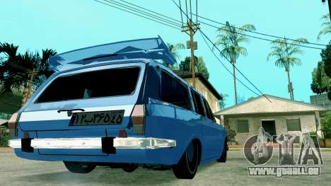 IKCO Paykan StiTion Sport pour GTA San Andreas sur la vue arrière gauche