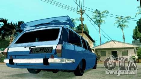 IKCO Paykan StiTion Sport für GTA San Andreas zurück linke Ansicht