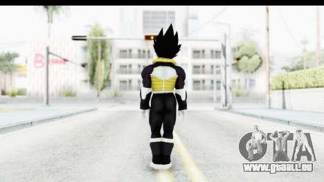 Dragon Ball Xenoverse Vegeta Timebreaker Fix pour GTA San Andreas troisième écran