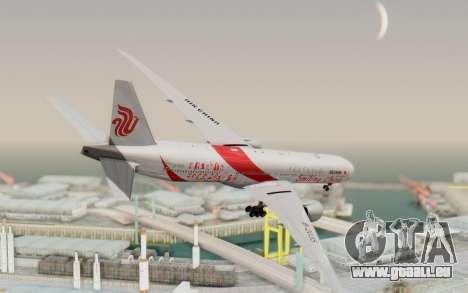 Boeing 777-300ER China Air für GTA San Andreas linke Ansicht