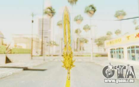 Blade of Olympus pour GTA San Andreas deuxième écran