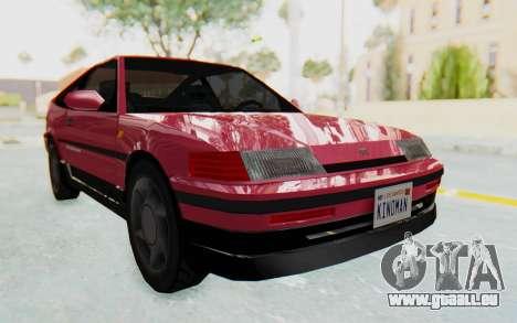 Dinka Blista Compact 1990 für GTA San Andreas