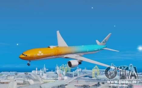 Boeing 777-300ER KLM - Royal Dutch Airlines v4 pour GTA San Andreas
