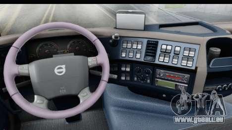 Volvo FMX Euro 5 v2.0 für GTA San Andreas Innenansicht