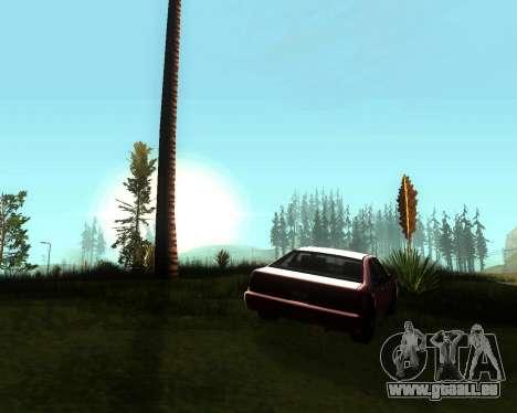Réaliste ENB pour les moyennes PC V. 1 pour GTA San Andreas troisième écran