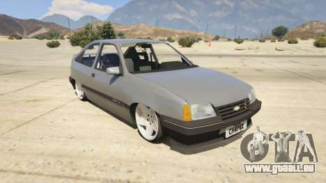 Chevrolet Kadett SL 2.0 Lowered für GTA 5