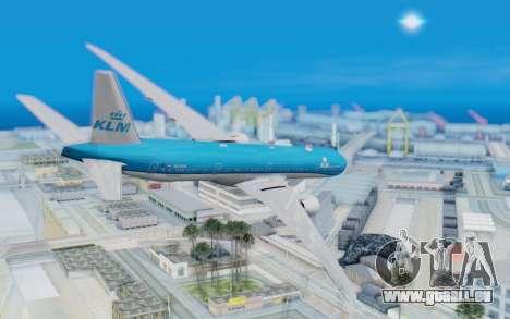 Boeing 777-300ER KLM - Royal Dutch Airlines v5 pour GTA San Andreas laissé vue