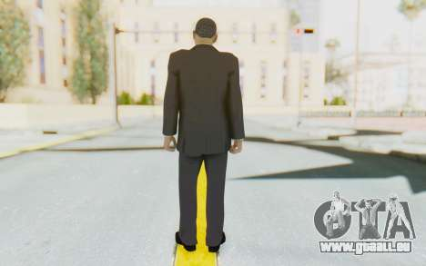Barack Obama Skin pour GTA San Andreas troisième écran