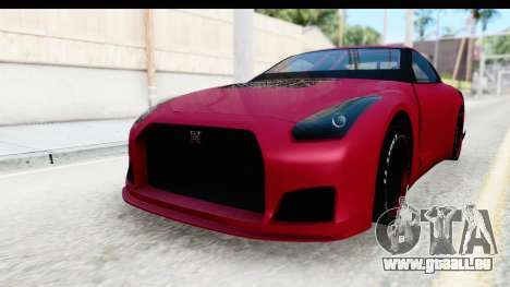 Nissan GT-R R35 Top Speed pour GTA San Andreas