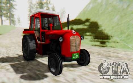 IMT 539 Deluxe pour GTA San Andreas sur la vue arrière gauche
