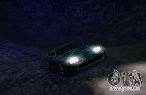 Camo. für GTA San Andreas rechten Ansicht