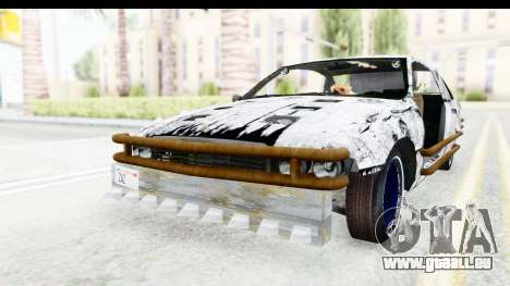 Chevrolet Caprice 2012 End Of The World pour GTA San Andreas