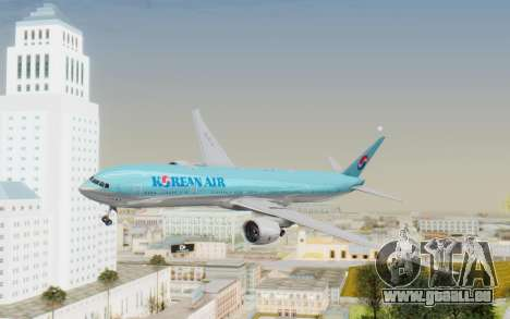 Boeing 777-300ER Korean Air für GTA San Andreas