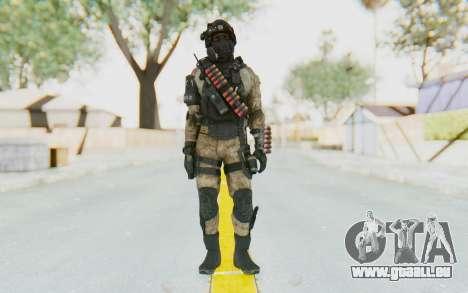 Federation Elite Shotgun Desert für GTA San Andreas zweiten Screenshot
