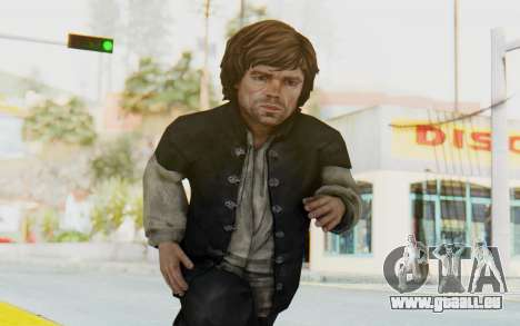 Game Of Thrones - Tyrion Lannister Prison Outfit pour GTA San Andreas