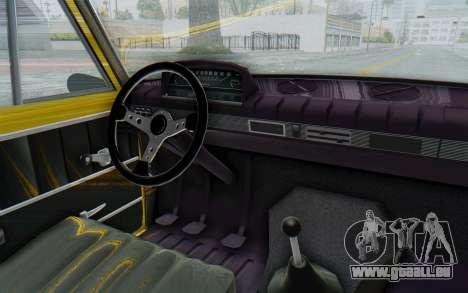 Seat 1430 Torrente für GTA San Andreas Innenansicht