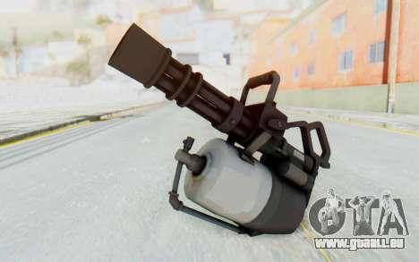 Minigun from TF2 für GTA San Andreas zweiten Screenshot