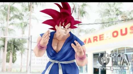 Dragon Ball Xenoverse Goku GT Adult SSG pour GTA San Andreas
