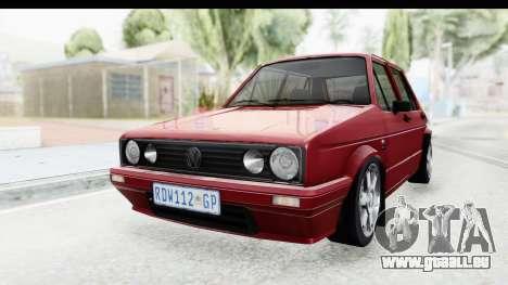 Volkswagen Golf VeloCiti 2008 Updated pour GTA San Andreas vue de droite