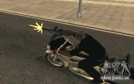 AKS-74U für GTA San Andreas fünften Screenshot