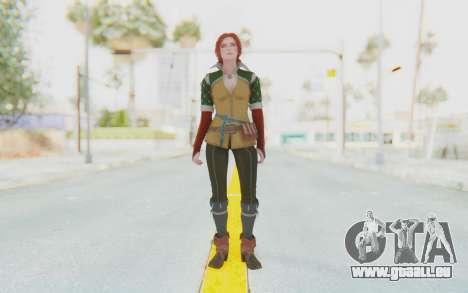 The Witcher 3 - Triss Merigold Default pour GTA San Andreas deuxième écran