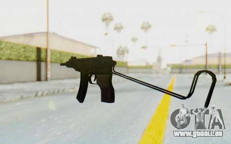 VZ-61 Skorpion Unfold Stock Russian Gorka Camo für GTA San Andreas zweiten Screenshot