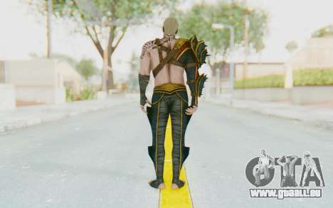 Injustice 2 - Aquaman für GTA San Andreas dritten Screenshot