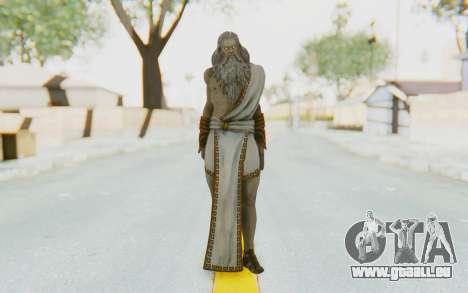 Zeus Skin pour GTA San Andreas deuxième écran