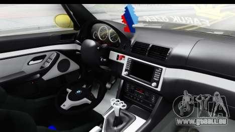 BMW M5 E39 für GTA San Andreas Innenansicht