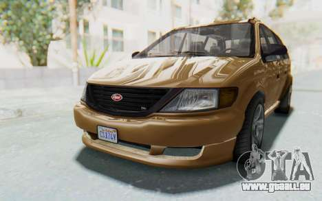 GTA 5 Vapid Minivan pour GTA San Andreas