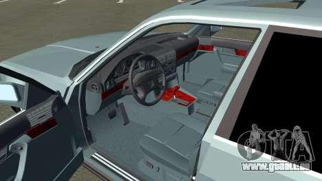 BMW 535i Gang pour GTA San Andreas vue arrière