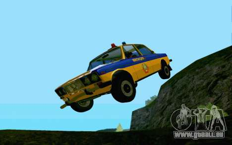 HUNTER-2106 GAI v2.0 pour GTA San Andreas vue de dessous