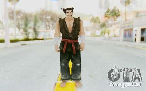 Heihachi Mishima (Young) für GTA San Andreas zweiten Screenshot