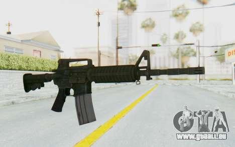 Assault M4A1 pour GTA San Andreas