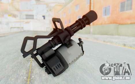 Minigun from TF2 für GTA San Andreas dritten Screenshot