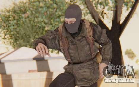 COD BO Russian Soldier Balaclava für GTA San Andreas