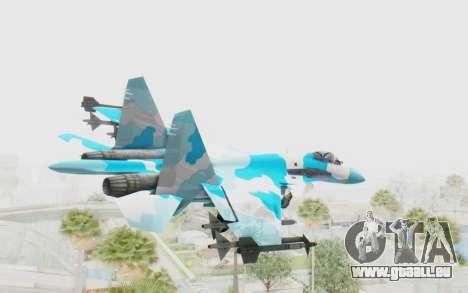 SU-37 American Ornament pour GTA San Andreas vue de droite
