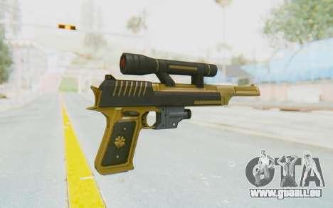 APB Reloaded - ACT 44 Gold pour GTA San Andreas deuxième écran