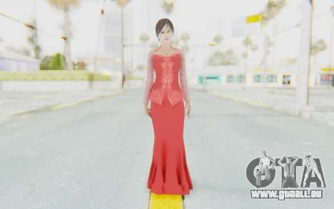 Linda Meilinda Kebaya Lady In Red für GTA San Andreas zweiten Screenshot