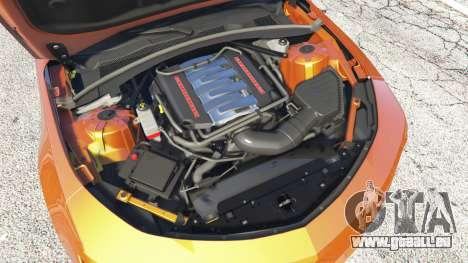 GTA 5 Chevrolet Camaro SS 2016 v2.0 rechte Seitenansicht