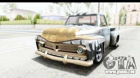 GTA 5 Vapid Slamvan Custom IVF für GTA San Andreas Innen