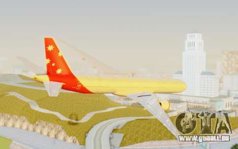 Boeing 777-300ER Virgin Australia v1 pour GTA San Andreas laissé vue