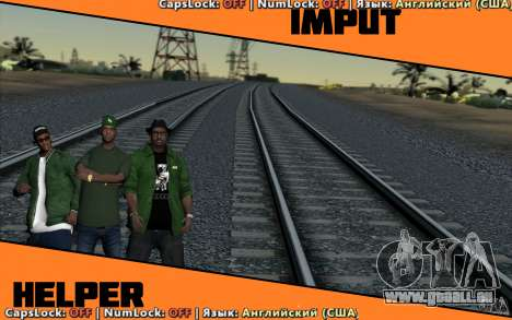 Input Helper pour GTA San Andreas