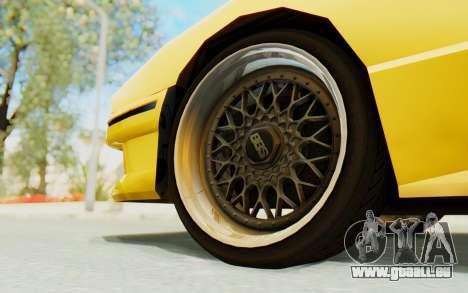 Elegy E30 für GTA San Andreas Innenansicht