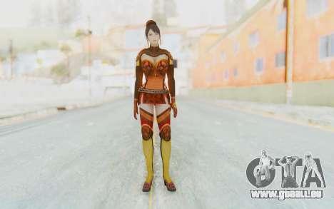 Dynasty Warriors 7 - Lian Shi v1 für GTA San Andreas zweiten Screenshot