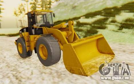 Caterpillar 966 GII pour GTA San Andreas vue de droite