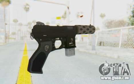 GTA 5 Vom Feuer Machine Pistol für GTA San Andreas zweiten Screenshot