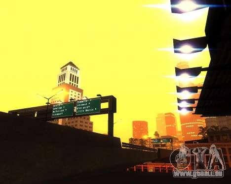 Réaliste ENB pour les moyennes PC V. 1 pour GTA San Andreas cinquième écran