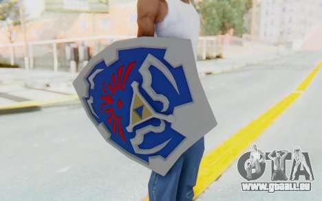 Hylian Shield from Legend of Zelda für GTA San Andreas dritten Screenshot